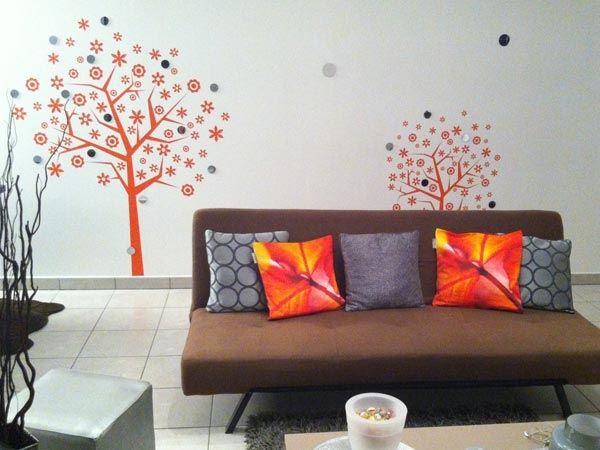 stickers arbres décoratifs