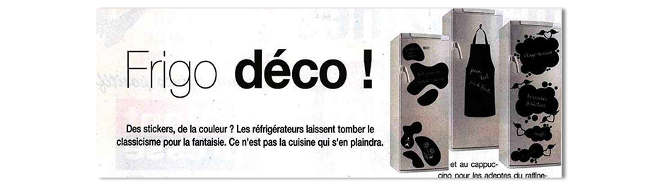 stickers frigo ardoise