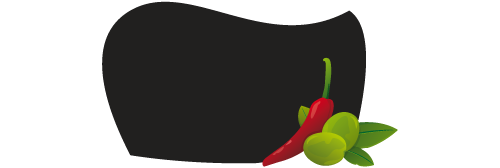 Stickers ardoise piments