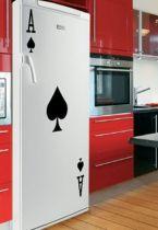 stickers muraux jeux de carte