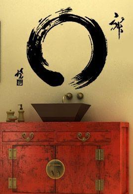 stickers deco zen