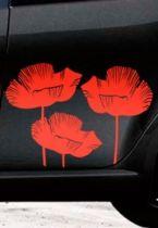 Stickers aygo fleurs