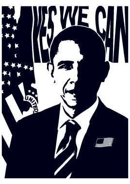 Stickers Barack Obama