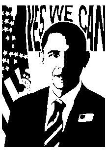 Stickers Barack Obama