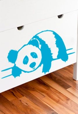 Stickers bébé panda