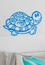 Stickers bébé tortue de mer