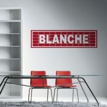 Stickers Blanche