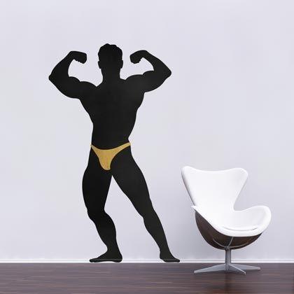 Stickers Bodybuilder