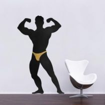 Stickers Bodybuilder