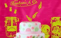 Stickers bonbons pour décorer une cuisine ou un coin marchande dans une chambre d\'enfant