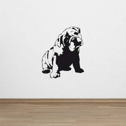Stickers Bouledogue anglais