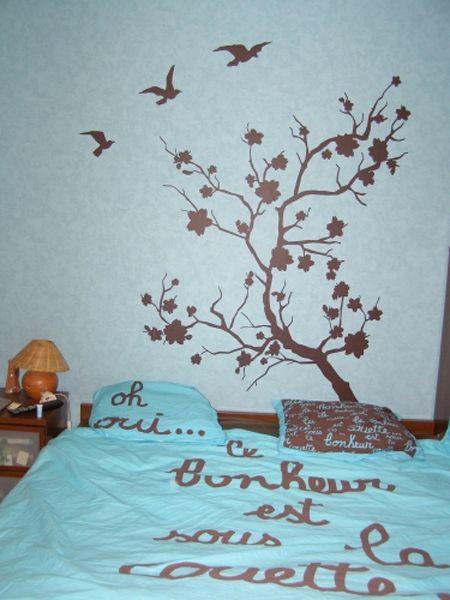 Stickers branche japonaise pour décorer votre intérieur avec style. En vente sur Idzif.com
