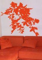 Stickers branche et feuilles de chêne