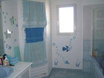 Stickers bulles pour décorer carrelage de salle de bain