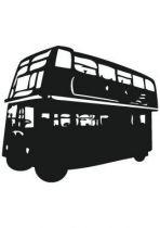 stickers bus londres rouge en vente sur iDzif.com Une collection de stickers muraux sur les capitales européennes