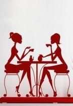 Stickers café entre filles