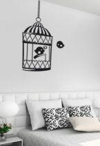 stickers muraux oiseaux
