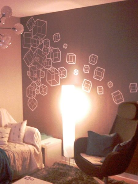 Stickers carré mambo de décoration intérieur, en vente sur Idzif.com