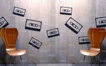 stickers cassette audio