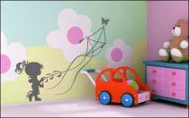 Le stickers cerf-volant pour décorer une chambre d\'enfant