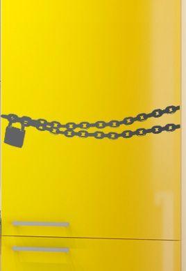 Stickers chaine