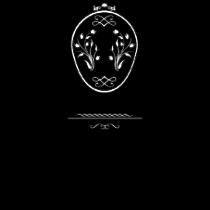 Le stickers chaise baroque en noir. Décorez sur le thème du baroque.