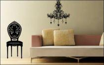 Le stickers chaise baroque pour une décoration baroque