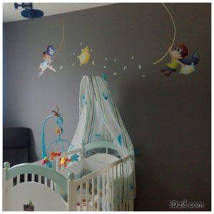 stickers chambre bébé pirates
