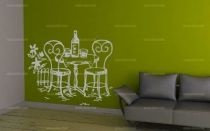 stickers table de jardin