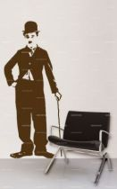 Stickers Charlie Chaplin