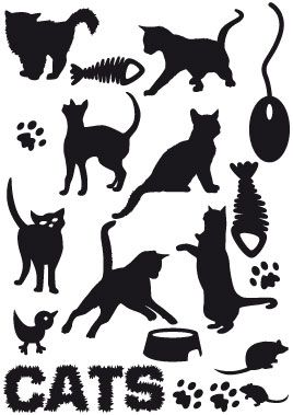 stickers animaux chats