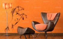 stickers muraux chevaux