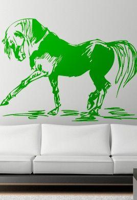 stickers cheval danse