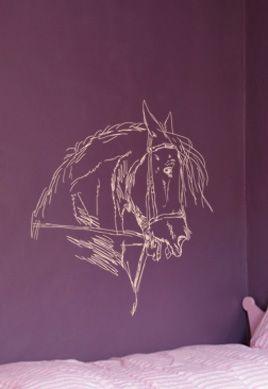 Stickers cheval et son mors