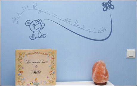 Le stickers chut pour décorer une chambre d\'enfant