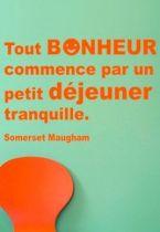Stickers citation bonheur