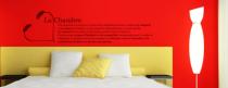 Le stickers citation chambre définition pour décorer l\'intérieur