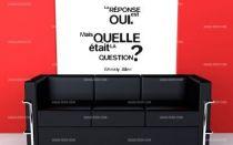 Stickers citation cin�aste am�ricain