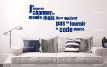Stickers citation développeur web