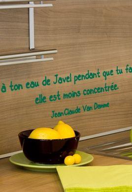 stickers citation humour belge. Black Bedroom Furniture Sets. Home Design Ideas