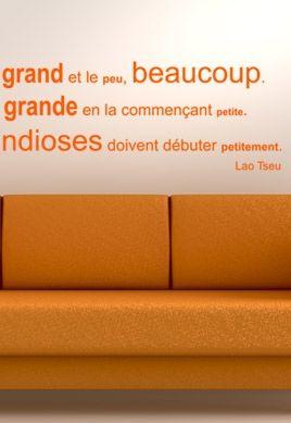 Stickers citation Lao Tseu