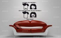 Stickers citation moustache