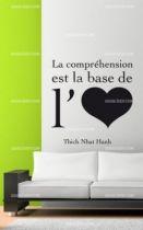 Stickers citation sur l\'amour