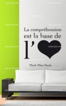 Stickers citation sur l\'amour