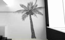 Le stickers cocotier pour décorer l\'intérieur sur le thème de la nature