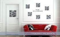stickers QR codes