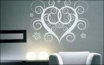 Le stickers coeur pour décorer l\'intérieur