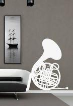 stickers musique cor
