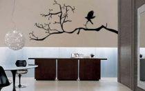 Le stickers corbeau vous permettra d\'apporter la nature sur vos murs