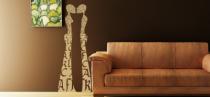 Le stickers couple Afrique pour décorer l\'intérieur